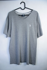 US Polo ASSN t-shirt L, szary