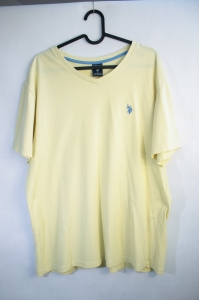 US Polo ASSN t-shirt L, żółty
